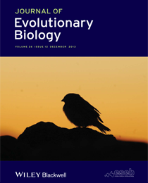 Cover of Journal of Evolutionary Biology