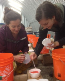 Pauline and Natalie complete their YIAL field season!