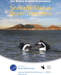 Holly wins at the 2nd World Seabird Conference in Cape Town!