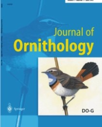 Emily and Christie publish in the Journal of Ornithology!