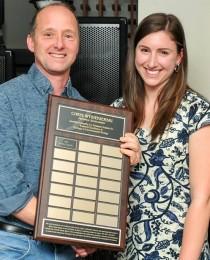 Pauline Capelle awarded the Chris Wysiekierski Memorial Scholarship!