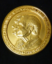 Dr. Christine Madliger is awarded the Governor General's Gold Medal
